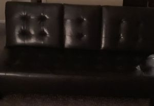 New leather futon for Sale in CORP CHRISTI, TX
