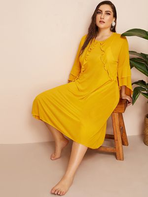 plus size yellow dress 2x 3x for Sale in Stockton, CA