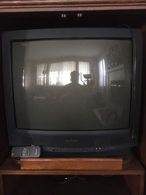 "Sharp television with controls - 25"" for Sale in Menifee, CA"