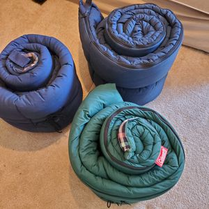 Coleman sleeping bags for Sale in Tacoma, WA