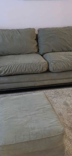 Beige Matching Couch And Chair W/ottoman for Sale in Roseville,  MI