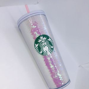 Starbucks Pink Sequin Tumbler 2020 Holiday New for Sale in Artesia, CA