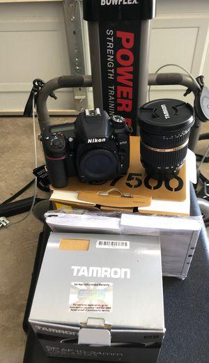 Nikon D7500 with Tamron SP AF10-24mm lens for Sale in Avondale, AZ