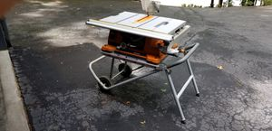 Ridgid 10 in. portable table saw for Sale in Roswell, GA