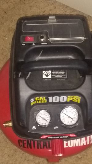 Brand new Central pneumatic air compressor for Sale in Wichita, KS