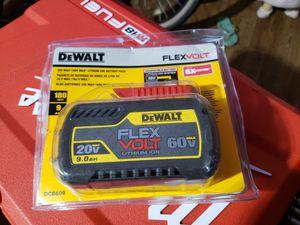 Dewalt flexvolt 9.0 for Sale in Glendale, AZ