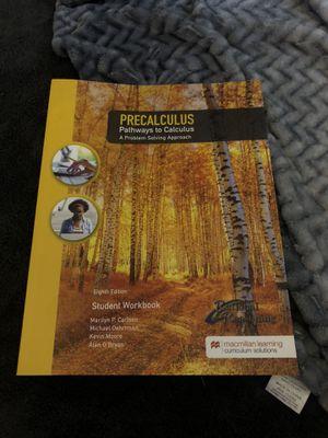 PRECALCULUS WORKBOOK for Sale in Rancho Cucamonga, CA
