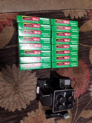 Fuji film fp-100c 16 packs and camera for Sale in Santa Ana, CA