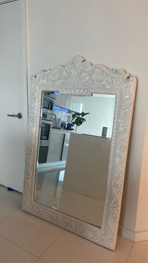 Large Restoration Hardware Vintage Mirror for Sale in Miami, FL
