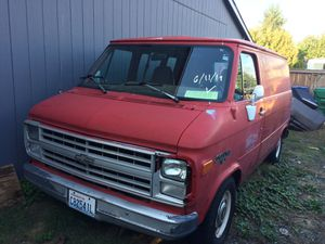 1991 Chevy g10 van for Sale in Marysville, WA