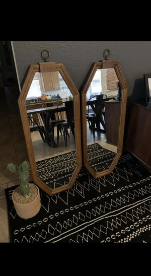 Mid century Carolina mirrors for Sale in Hemet, CA