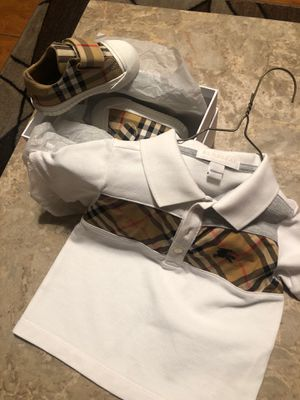 Burberry shirt and Shoes for Sale in Winter Haven, FL