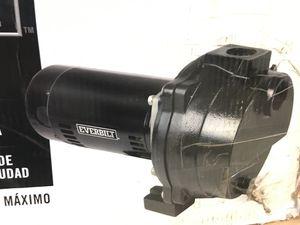 Everbilt 1-1/2 HP Cast Iron Lawn Sprinkler Pump for Sale in Moreno Valley, CA