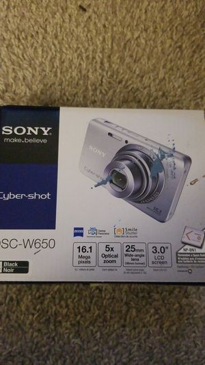 Sony cyber shot he camera for Sale in Marietta, GA