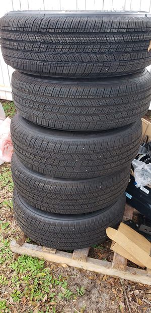 New wheels from Jeep Wrangler for Sale in Apopka, FL