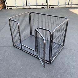 "brand new $65 dog playpen heavy duty 4-panel kennel, 37""x25""x24"" for Sale in Whittier,  CA"