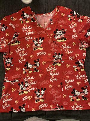 Mickey n Minnie Scrub top for Sale in Pico Rivera, CA