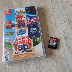 SUPER MARIO 3D ALL STARS + POKÉMON LET'S GO EEVEE for Sale in Fort Lauderdale, FL