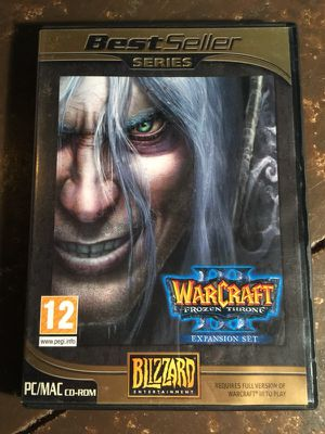 Warcraft III Frozen Throne Expansion set for Sale in St. Louis, MO