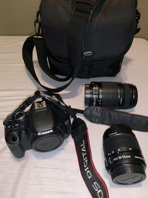 Canon eos rebel t3i set! for Sale in Bonita, CA