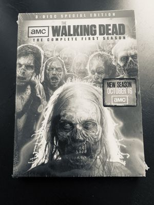 The Walking Dead complete first season. 3 disc special edition for Sale in Fall River, MA