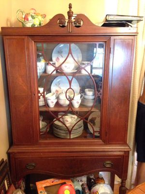 Antique kitchen furnisher cabinet for Sale in Manassas, VA