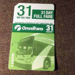 1 New bus pass for Sale in Rancho Cucamonga, CA