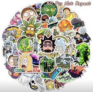 Rick n Morty Sticker 50 pc for Sale in Falcon Heights, MN