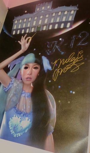 Melanie Martinez signed k-12 tour poster for Sale in Smyrna, TN