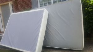 Free queen mattress and box spring for Sale in Atlanta, GA