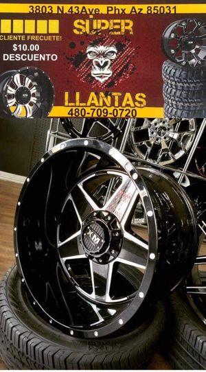 33 1250 24 SUPER LLANTAS for Sale in Phoenix, AZ