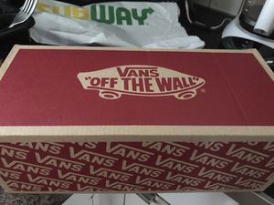 Brand new vans classic slip ons, true white color for Sale in Columbus, OH