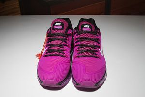 Womens Nike Air Max 2018 Elite KPU Black Purple White Running Shoes for Sale in Dover, DE