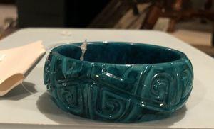 Turquoise Bangle Bracelet w Hinge for Sale in Parkville, MD