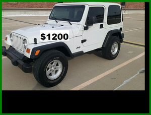 $12OO Jeep Wrangler for Sale in Washington, DC