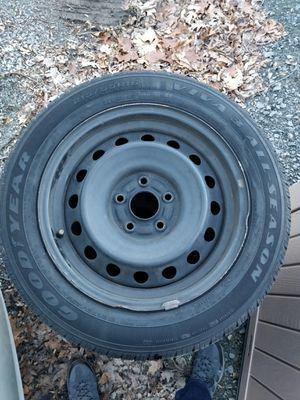 Used tires. 215/55R16 tire J 16x7J DOT TOPY 1 25 16 H2.55FF TBA 5hole rim. for Sale in Reston, VA