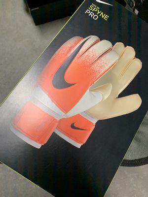 NIKE GK SPYNE PRO GOALIE GOAL KEEPER GLOVES SOCCER FOOTBALL for Sale in Los Angeles, CA