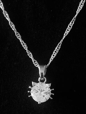 Sterling Silver Cat Necklace for Sale in Las Vegas, NV