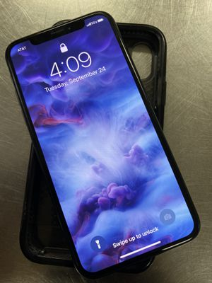 Unlocked iPhone X 256GB Space Grey for Sale in St. Louis, MO