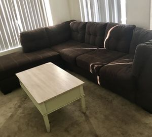 Room Store- Brown Sectional Couch for Sale in Phoenix, AZ