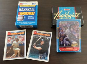 1987 Donruss and 1990 Topps Baseball Cards for Sale in South Attleboro, MA