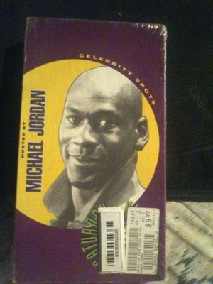 Michael Jordan vhs tape sealed for Sale in Los Angeles, CA