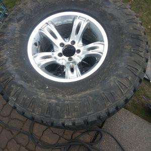 Good Year Wrangler Duratac. Jeep Wheels for Sale in Auburn, WA
