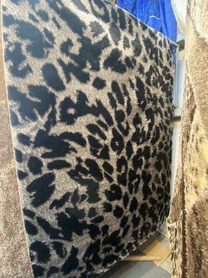 5x8 grey soft shaggy safari design shaggy rug for Sale in Los Angeles, CA