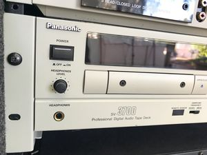 Panasonic SV3700 Pro Digital Audio Tape deck for Sale in Los Angeles, CA