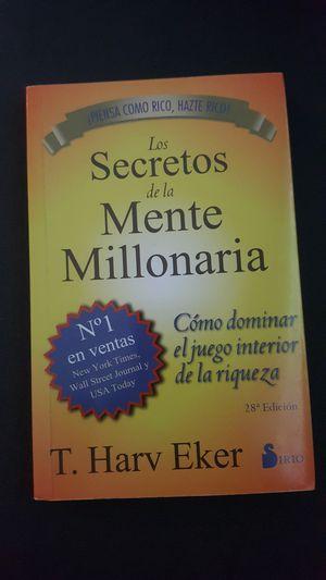 Los secretos de la mente millonaria for Sale in Dallas, TX