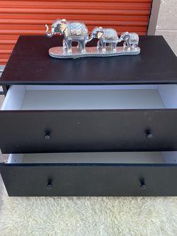 Black 3 Drawer Nightstand for Sale in Las Vegas,  NV