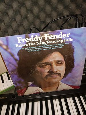 "Vinyl 12"" Album Freddy Fender ""Before The Next Tear Drop Falls"" for Sale in Los Angeles, CA"