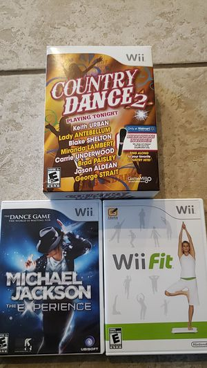 Wii games country, MJ,Fit for Sale in Buckley, WA