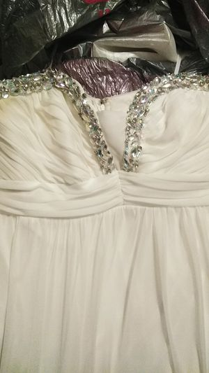 Formal Dress.....I used as a wedding dress for Sale in Hadley, KY